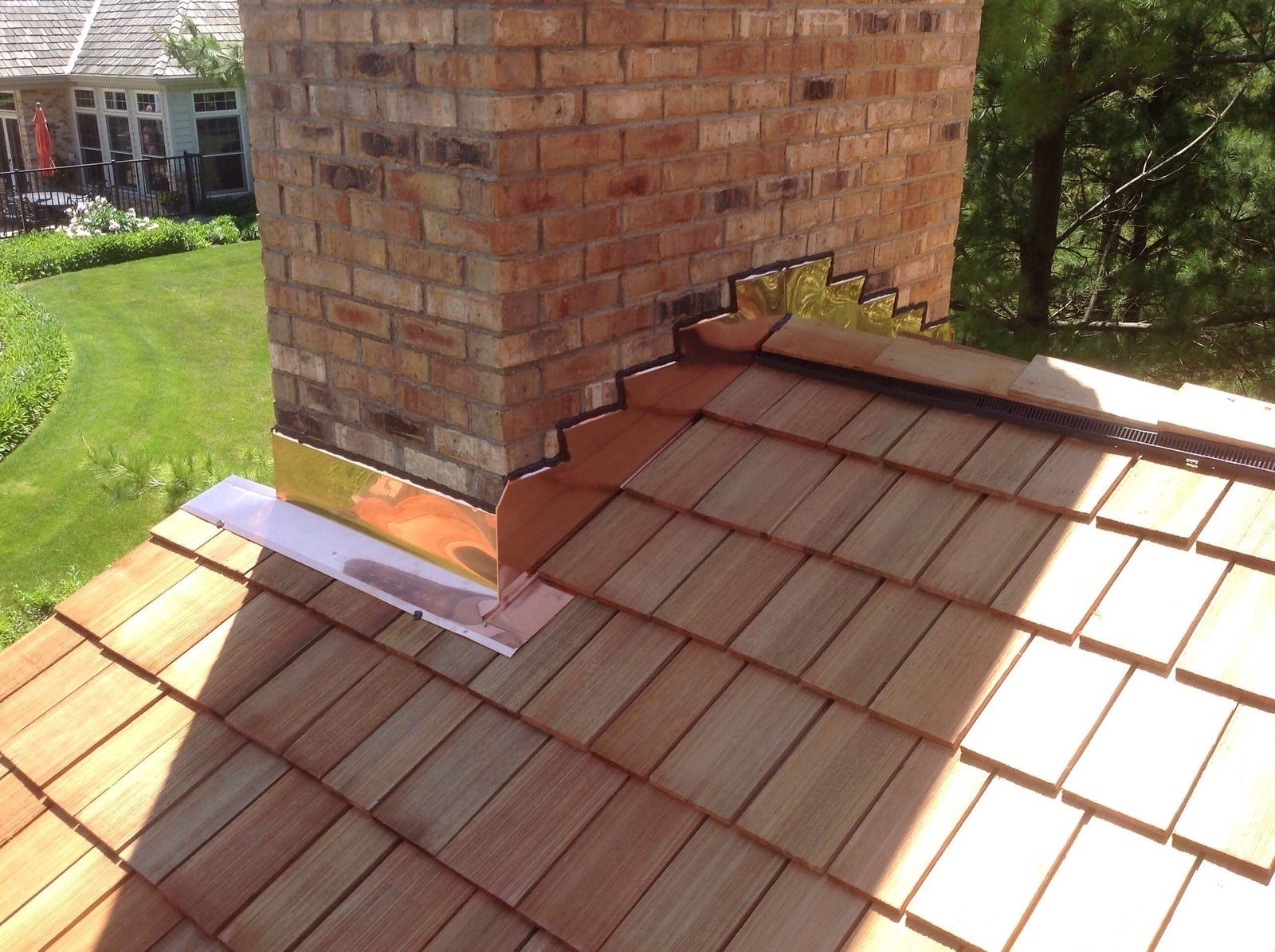Roof replacement gives you a new roof and is required if your current roof has sustained too much damage