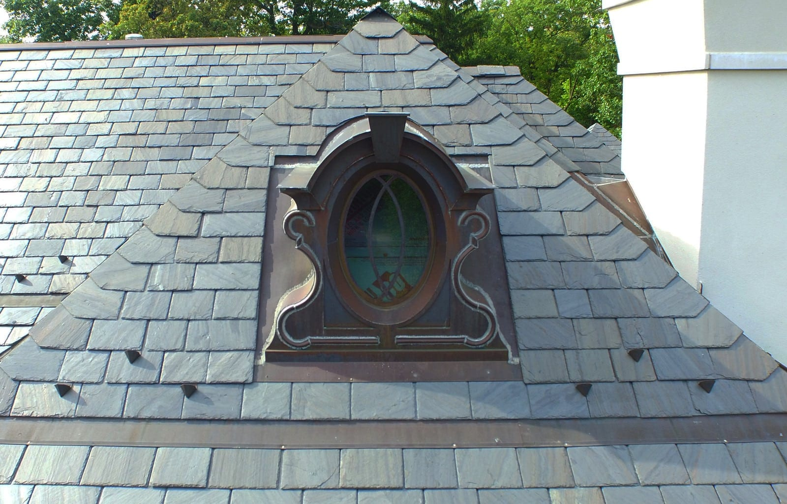 For a timeless classic, slate is a great option