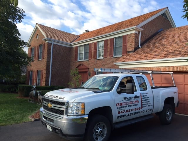 A new roof by A.B. Edward Enterprises, Inc. is guaranteed to last for years and look great!