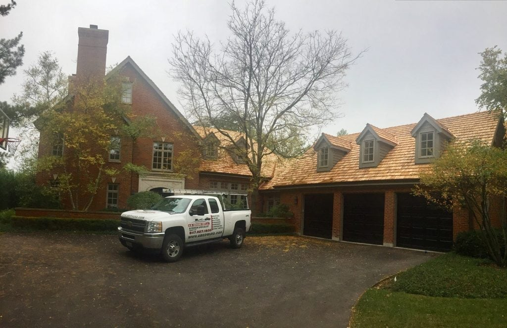 Cedar Roof Replacement