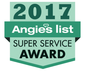 Angies List 2017 Award Winner