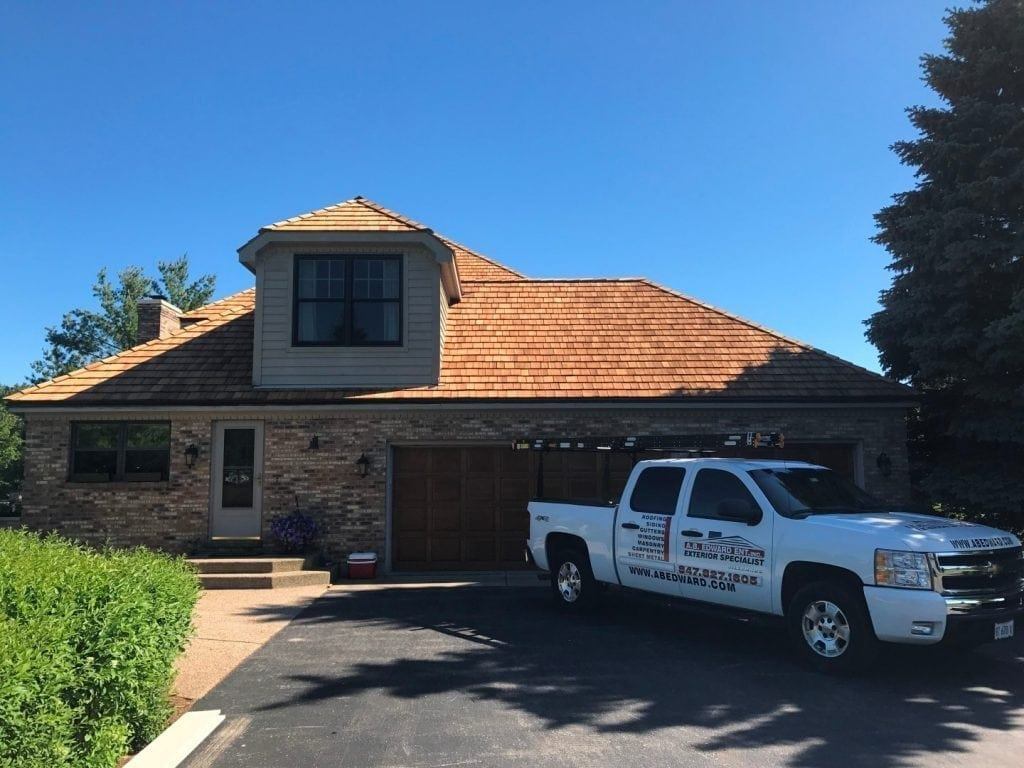 Cedar Roofing services in Barrington IL