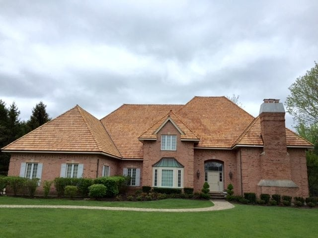 Lake Forest IL Cedar Roof