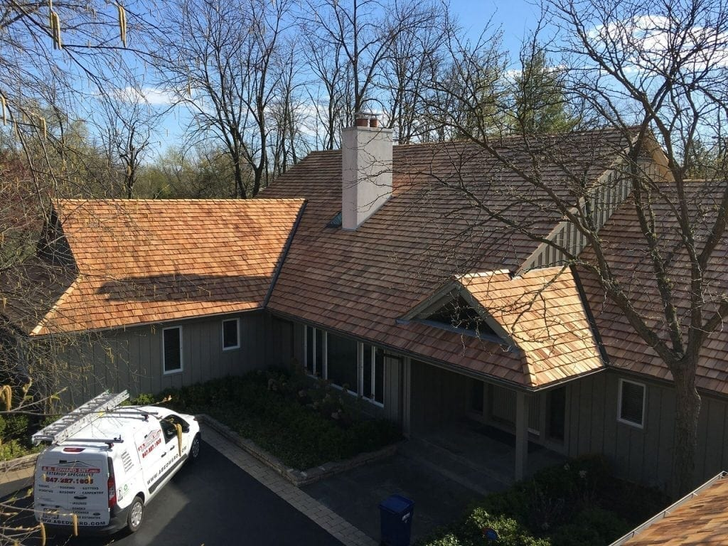 Cedar Roofing Experts in South Barrington IL