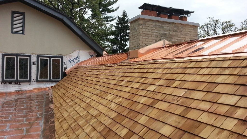 Cedar roofing in Buffalo Grove IL requires maintenance to function properly