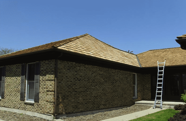 Cedar roofing requires maintenance to be at its best