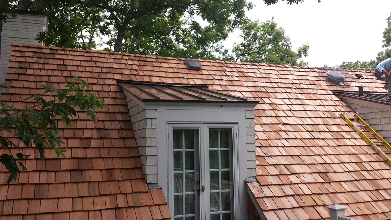Proper cedar roof ventilation is part of maintenance