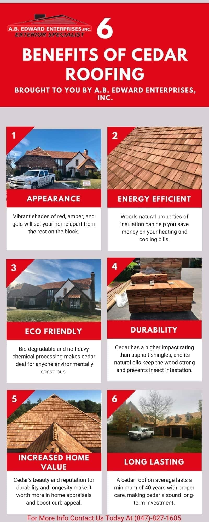 6 Benefits Of Having Cedar Shake Roof