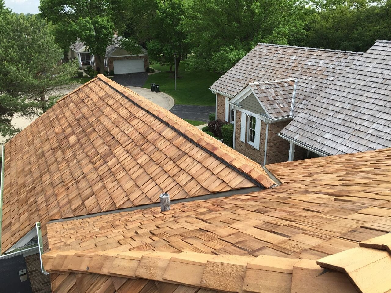 A roofing inspection can extend the life of your cedar roof.