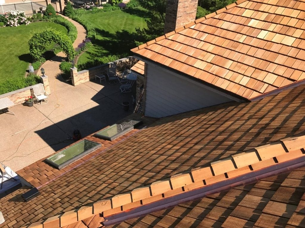 West Chicago IL Cedar Roofing Services