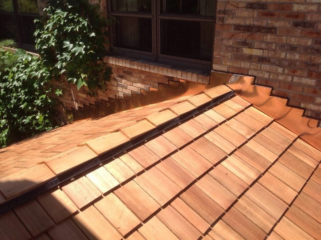 Cedar roofing repairs will help your roof look like this longer!