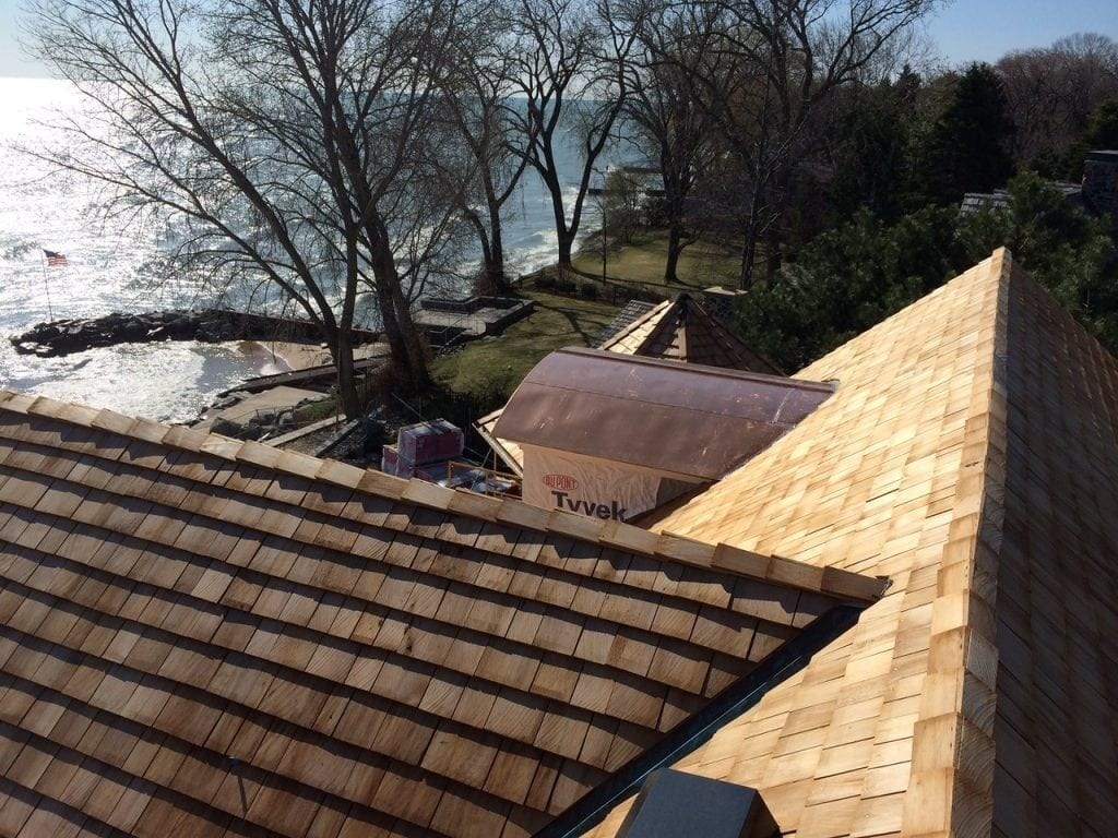 Keep your cedar roof in good repair after storms